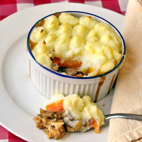 Leftover Turkey Shepherd's Pie