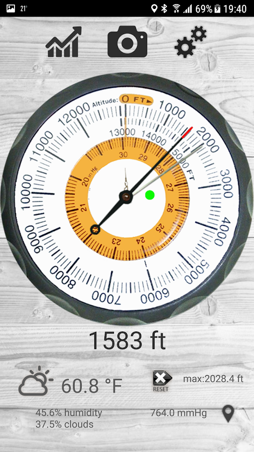 Altimetro - altimeter pro Screenshot
