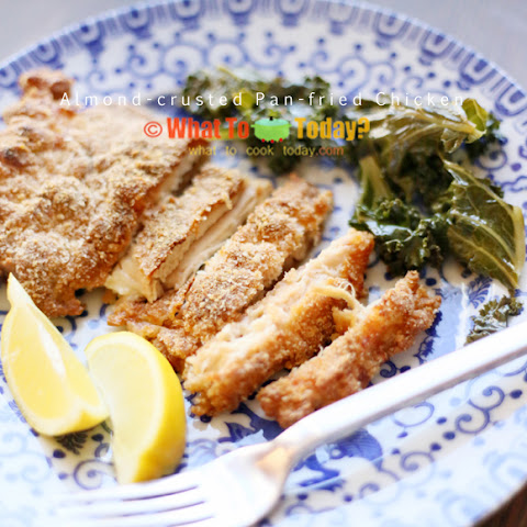 ALMOND-CRUSTED PAN-FRIED CHICKEN (4 pieces)