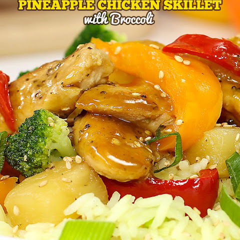 Pineapple Chicken Skillet with Broccoli