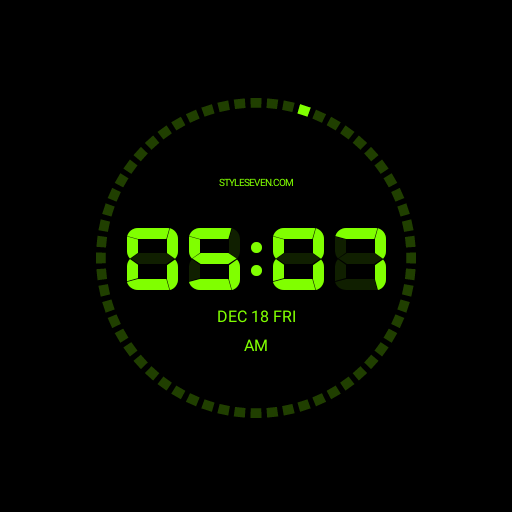 Digital Clock AW-7