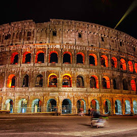 Colosseum by Krishanu Roy - Buildings & Architecture Statues & Monuments