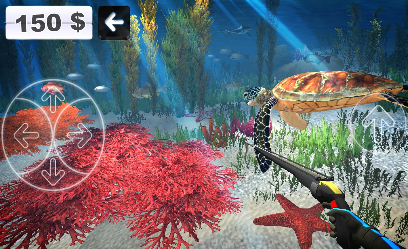 Spearfishing 3D Screenshot 1
