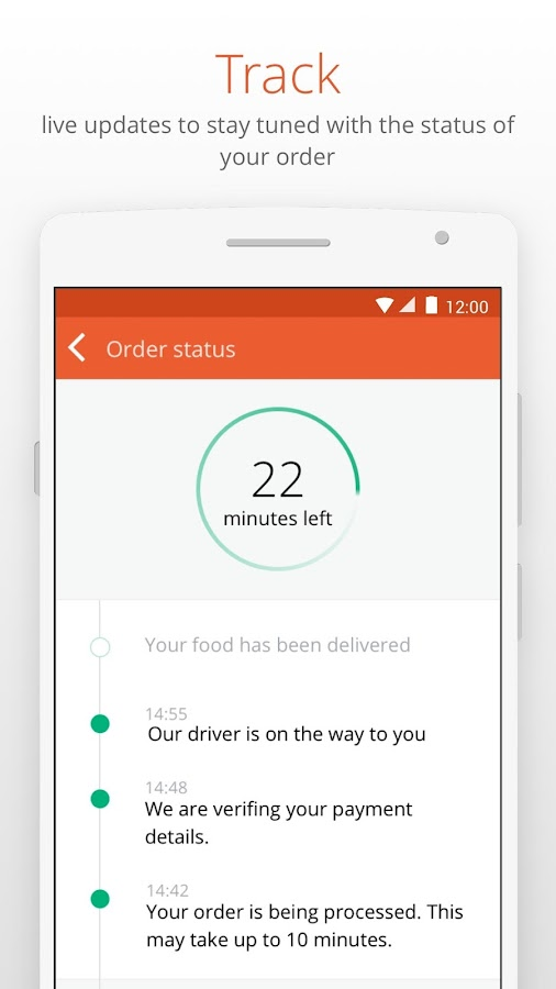 foodpanda - Food Delivery Screenshot 4