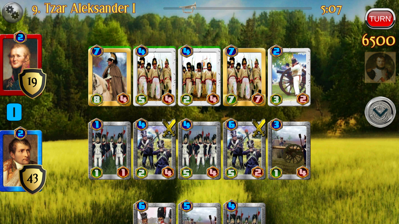 Napoleon War Cards Screenshot 3