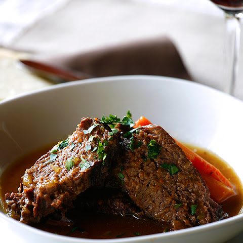 Braised Beef in Barolo Wine Sauce