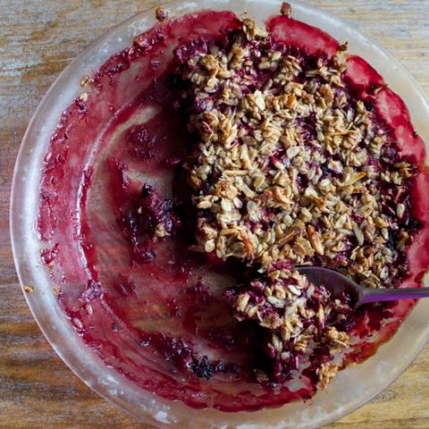 Wild Berry Crumble