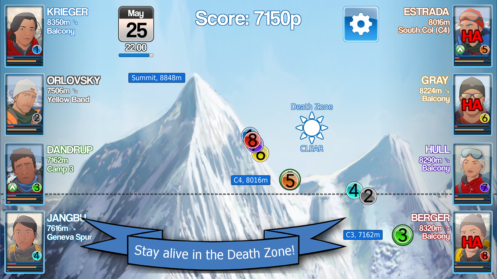 Mount Everest Story - Survival in the Death Zone Screenshot 2