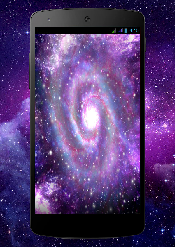 Galaxy Pro Live Wallpaper Screenshot 6