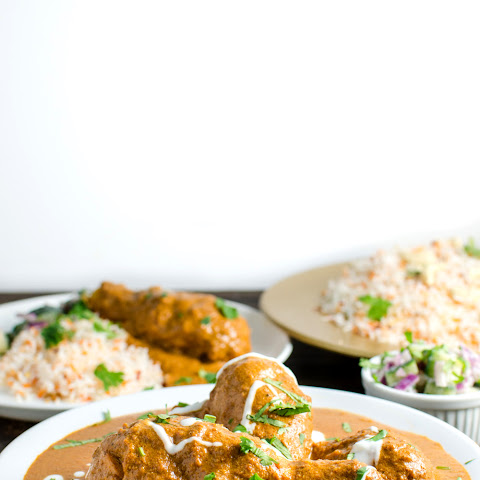 Butter Chicken without Cream (Murgh Makhani)