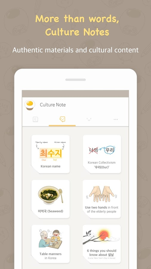 Chat to Learn Korean - Eggbun Screenshot 4