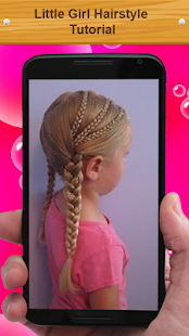Little Girl Hairstyle Tutorial - screenshot