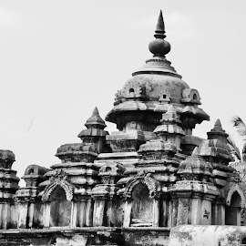 Old but still stands... by Naveen Mahadev - Buildings & Architecture Decaying & Abandoned