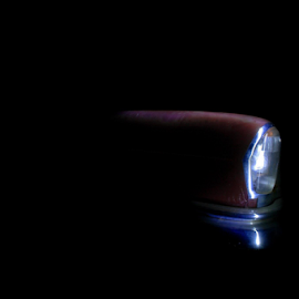 by Lachlan Hudson - Abstract Light Painting ( car, old car,  )