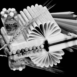 Book by SANGEETA MENA  - Black & White Objects & Still Life