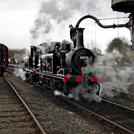 Age of Steam by Roger Booton - Transportation Trains ( magnificent, history, transport, engine, station, train, nostalgic, steam )