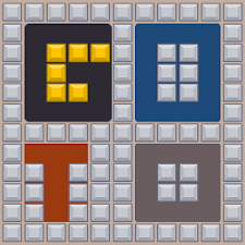 GoTo Letters:ball puzzel game