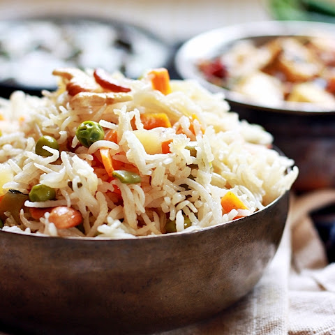 Veg pulao recipe, how to make veg pulao | Vegetable pulao