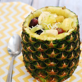 Tropical Fruit Salad #SundaySupper