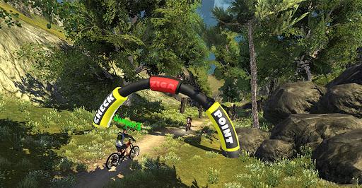 MTB DownHill: Multiplayer screenshot 17