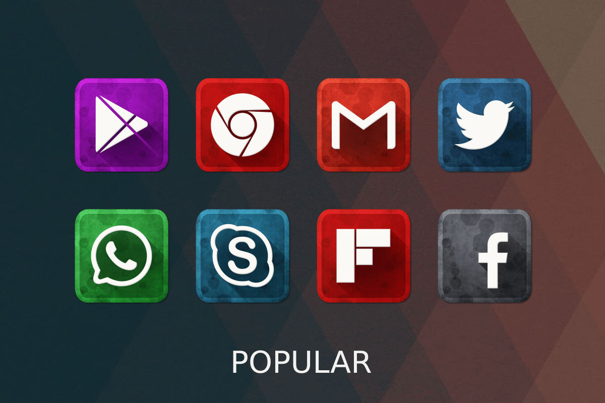 Vintage Icon Pack Screenshot 15