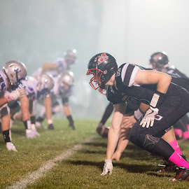 Football Fog by Robert George - Sports & Fitness American and Canadian football