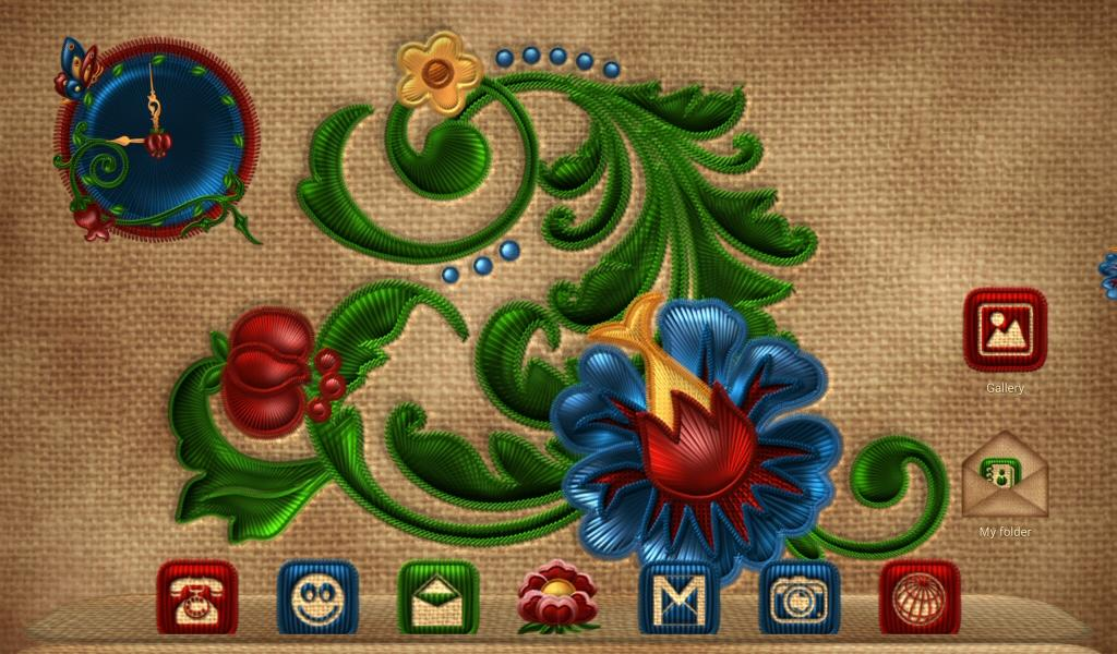 NEXT FLOWERS EMBROIDERY THEME Screenshot 9