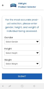 FitRight Product Selector for pc