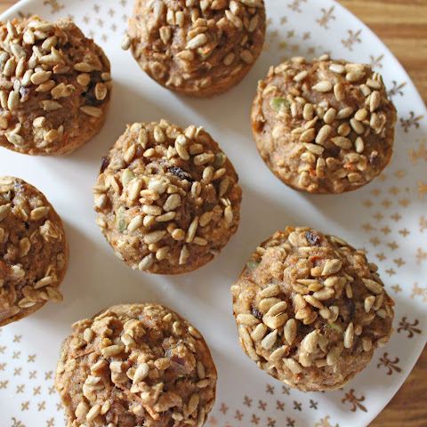Whole Grain Apple Harvest Muffins