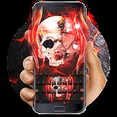 App Flame skeleton blood keyboard 10001002 APK for iPhone
