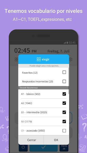 WordBit Inglés [Lockscreen] screenshot 4