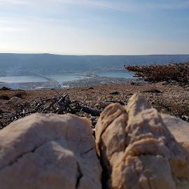 landscapes Pag by Ivan Majić - Landscapes Travel ( blue sky, landscapes pag, rocks, travel photography, sun )