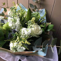 Beautiful Baby Boy flowers by Jo Fisher | The Florist | Tunbridge Wells | Kent