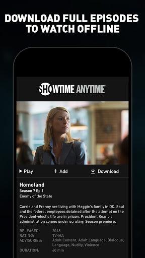 Showtime Anytime screenshot 4