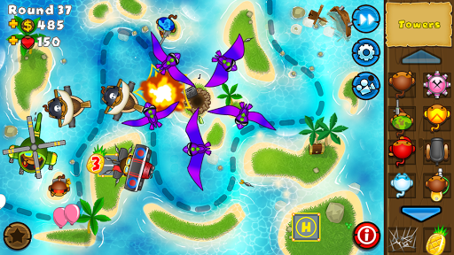 Bloons TD 5 screenshot 2