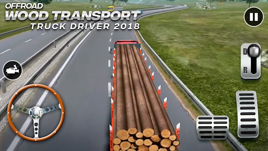 Offroad Wood Transport Truck Driver 2018 for pc