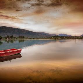 by Stephen Hooton - Uncategorized All Uncategorized ( boats, albania )