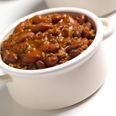 Ness's Chunky Crock Pot Chili