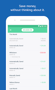 Digit Save Money Automatically screenshot for Android