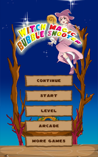 Witch Magic Bubble Shooter - screenshot