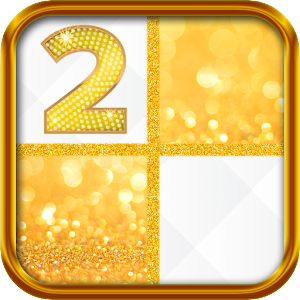 Gold Piano Tiles 2 For PC