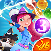 Game Bubble Witch 3 Saga version 2015 APK