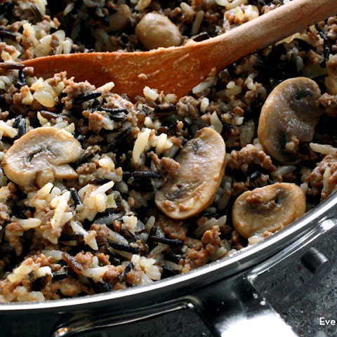 Hamburger Wild Rice Casserole