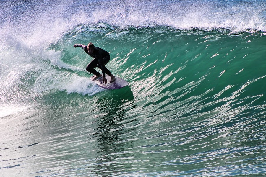 Barrel by Jay Woolwine Photography - Sports & Fitness Surfing ( surfing, surfer, wave, ocean, surf )