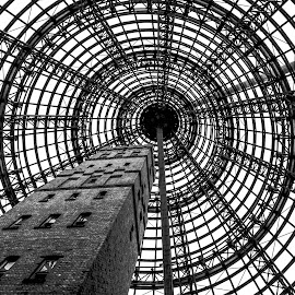 MELBOURNE CENTRAL by MARK WILKINSON - Buildings & Architecture Architectural Detail ( melbourne central, building, melbourne, australia, architecture )