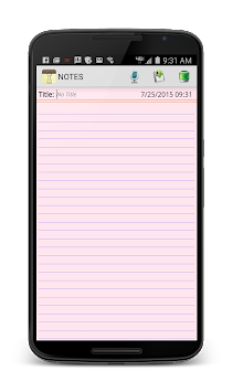 NOTES APK screenshot thumbnail 4