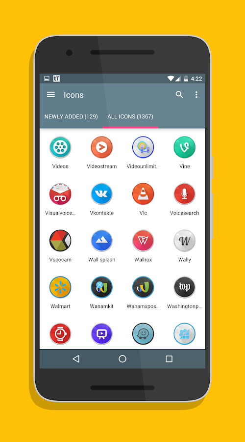 SwishHD - Icon Pack Screenshot 3
