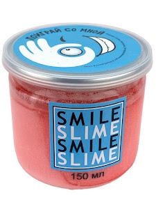 Слайм-лизун Cмузи розовый, 150 мл.