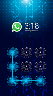 App Blue Tech-Future AppLock apk for kindle fire
