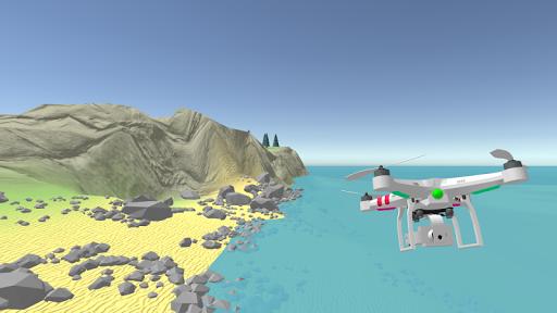 Drone Simulator I - screenshot